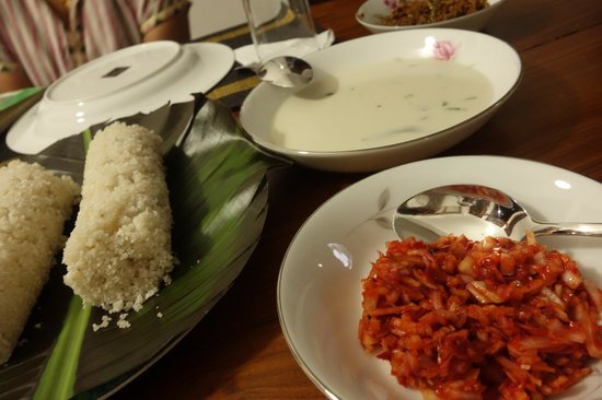 Hanthana House: No wonder a greater part of our stay was spent at the dining....