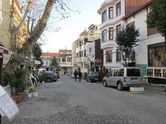 Hotel Sari Konak: Hotel Anfahrt