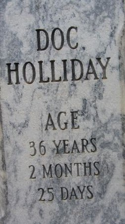 Linwood Cemetery: Doc Holliday