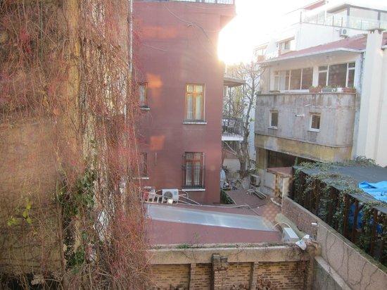 Hotel Sari Konak: Aussicht aus dem Zimmer
