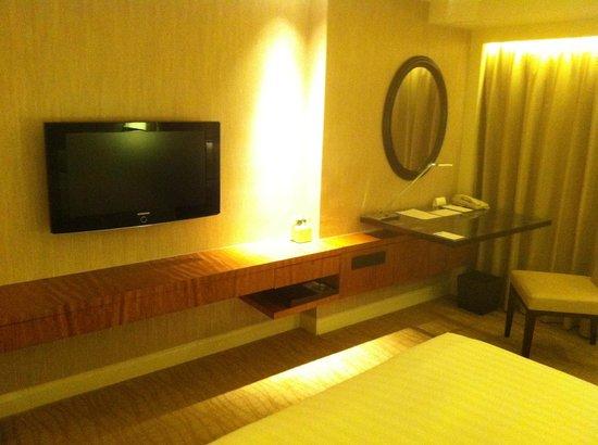 Grand Hyatt Beijing: телевизор