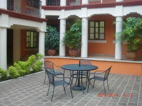 Hotel Eugenia: area entre habitaciones