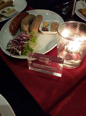 Platinum Grill: Various Pork sausages