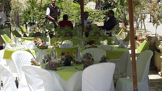Al Kalaa Restaurant : Terrasse Al kalaa