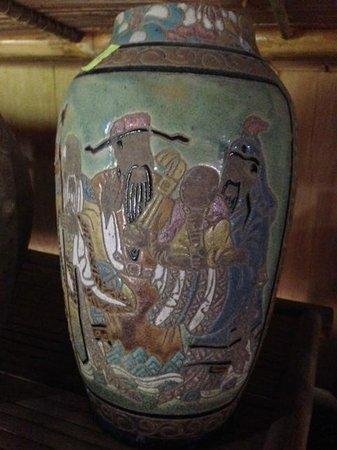 Handspan Travel Day Tour: Mai Chau ethnographic museum vase