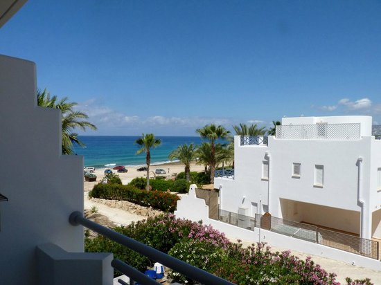 Hotel St. George: The view of the sea from room 1213