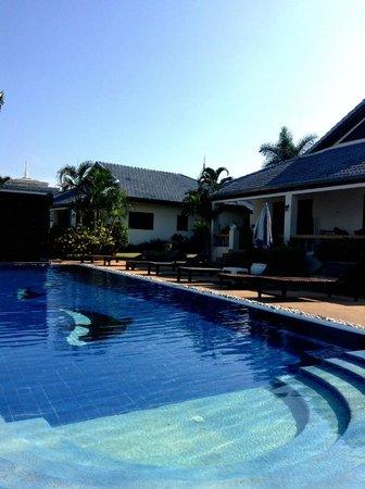 Christiane's blue residence: La résidence