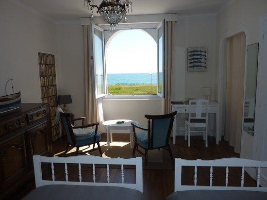 Villa Keris - Face Ocean : la chambre dune