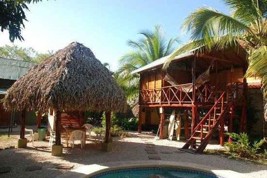 Playa Grande Surf Camp: View from the back