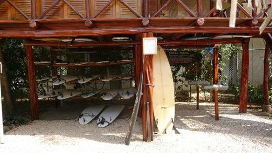 Playa Grande Surf Camp: Surfboards