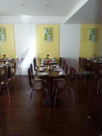 Oliver Plaza Hotel: Sala colazioni