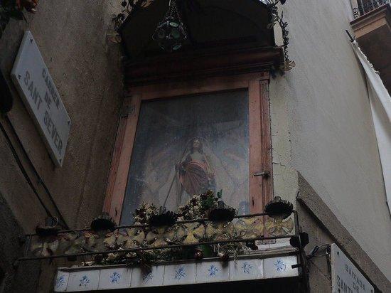 Barcelona Japanese Official Tourist Guide: 旧市街をやさしく見守る守護聖人サンタ・エウラリア
