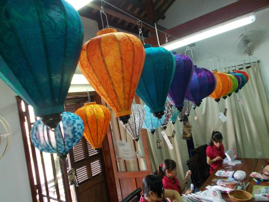 Lifestart Foundation Workshop : Lanterns made by the artisans - ready for sale