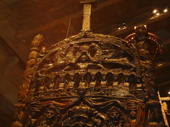Vasa-Museum: The wood carvings