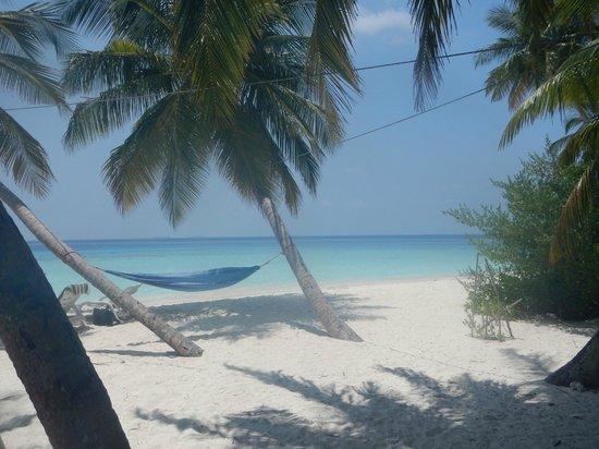 Fihalhohi Island Resort: La plage