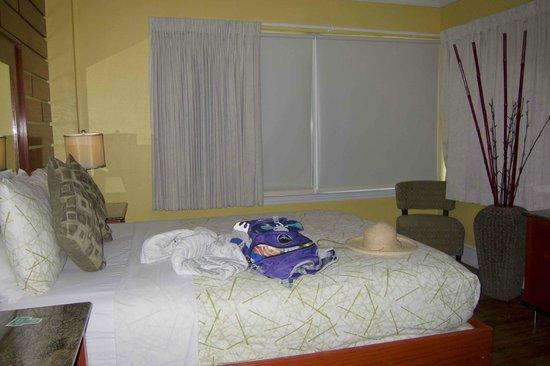 The Colony Hotel: Sleeping area