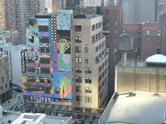 view from the 16th floor 8th ave side picture of row nyc hotel