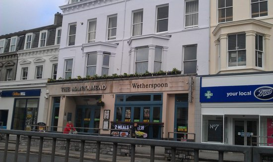 The Mannamead Wetherspoons Pub At Mutley Picture Of The