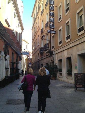 Hotel Italia: L'esterno dell'albergo