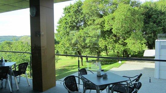 Hotel Via Argentum: vista desde la cafetería