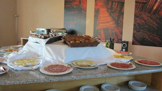 Hotel Via Argentum: Desayuno