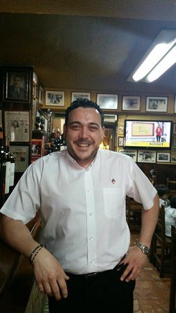 Jose Luis Salcedo, alma de la Taberna San Cristobal