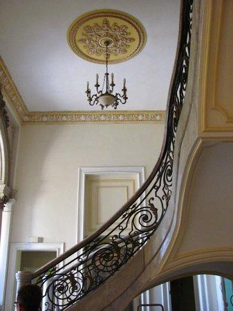 Hotel San Miguel: la scalinata centrale