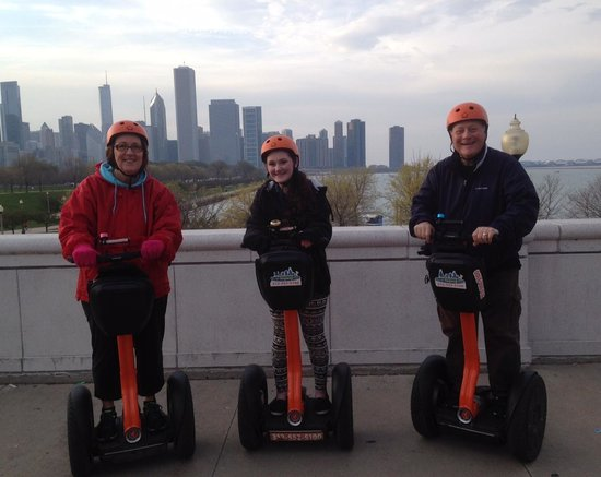 City Segway Tours Chicago : Veiw from the Aqarium