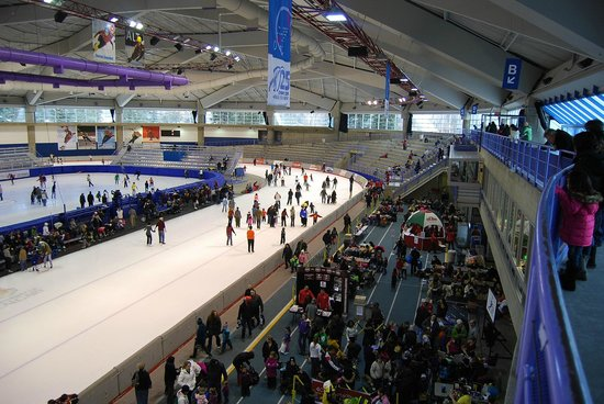 Olympic Oval: Look How Big it is!