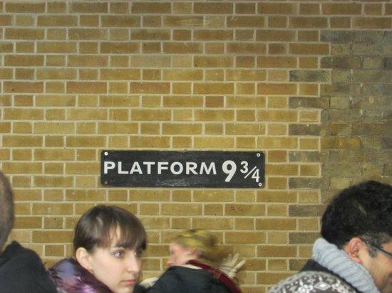 King's Cross Station: Binario nove e trequarti