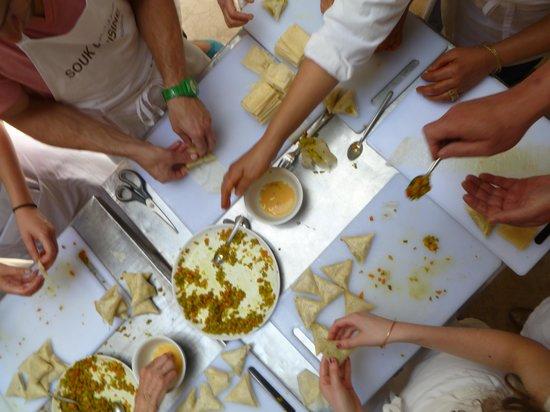 Souk Cuisine : teamwork