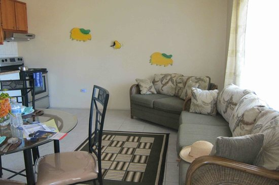 Gordian Terrace: living space