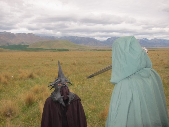 Lord of the Rings Twizel Tour: And costumes..