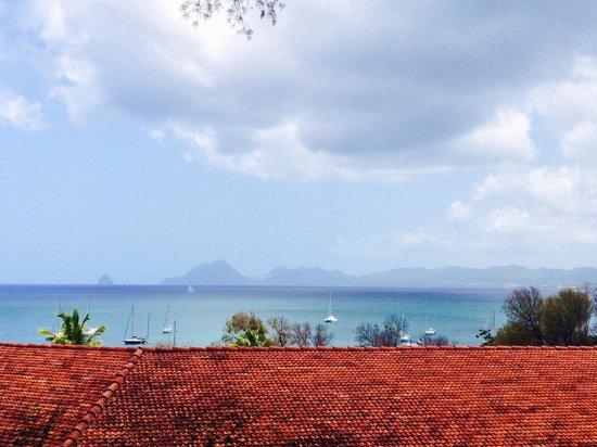 Residence de l'Anse Caritan: Vue du premier étage du bâtiment Madinina.