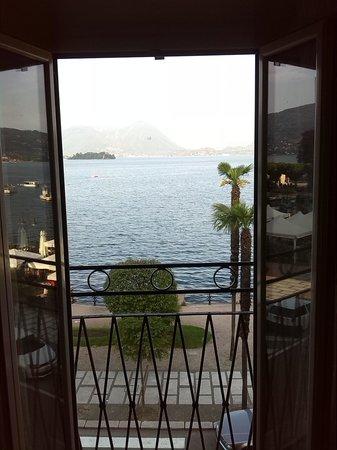 Hotel Eden : vista del lago