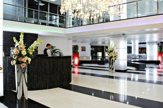Hotel Krasnapolsky : Receptie