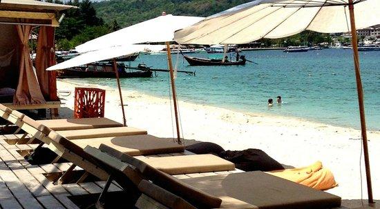 Mama Beach Residence: La plage du Mama