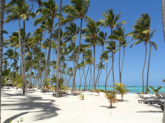 Barcelo Bavaro Palace Deluxe : пляж