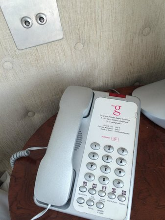the g Hotel & Spa Galway: Bedside Phone