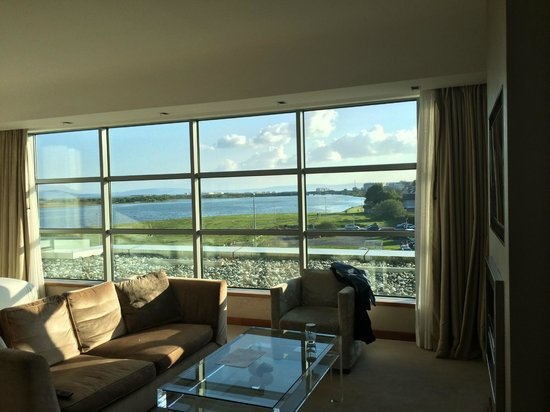 the g Hotel & Spa Galway: Junior Suite View