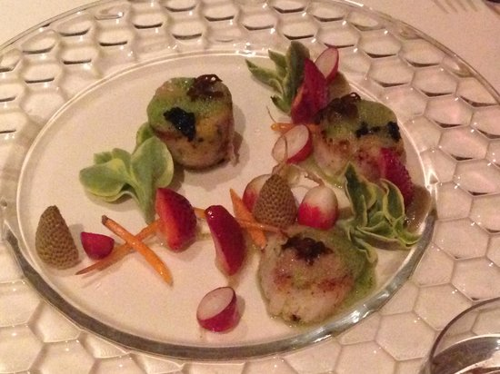 All Spice: Day boat scallops, two ways