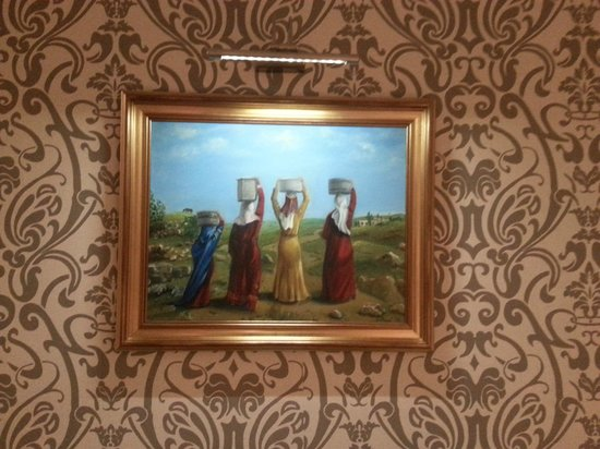 Konak Hotel : Picture on the wall