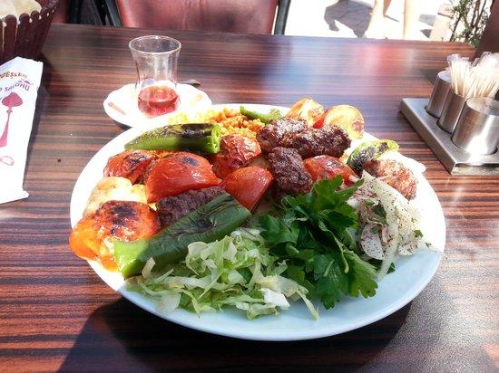 Konak Hotel: Turkish food