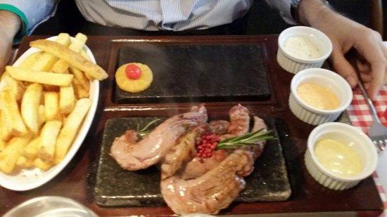 Rolli's Steakhouse Oerlikon: Lamm-fillet