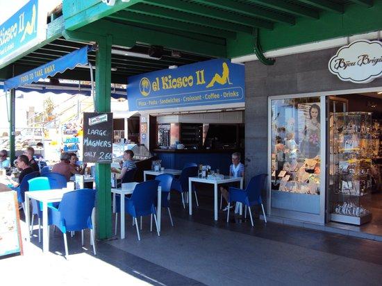 El kiosco 2 puerto del carmen restaurant reviews for Kiosco bar prefabricado