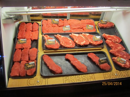 Texas Roadhouse : Selection of steaks