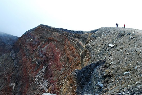 Santa Ana Volcano: If you have time you can move part way around the rim