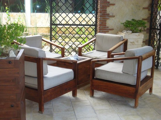 IFA Villas Bavaro Resort & Spa: ESPACE DETENTE A LENTREE DE LHOTEL