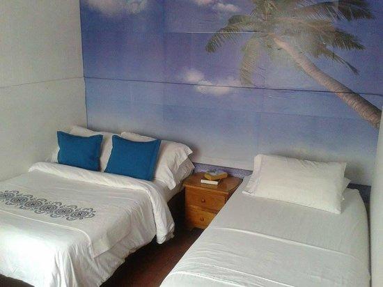 Palm Tree Hostal Medellin: habitación Doble con baño compartido