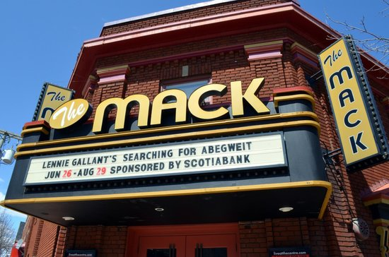 The Mack: The theatre seats 200 and is cabaret style (licensed venue).